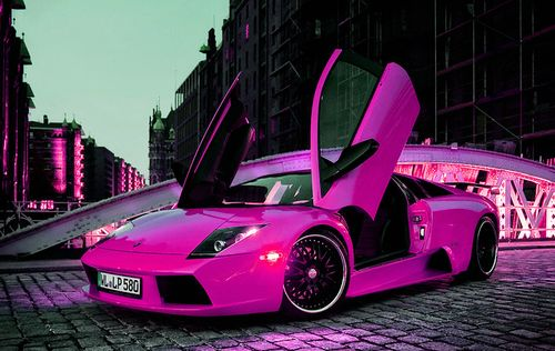 Hot pink car   Hot Pink Cars For Maddie   Pinterest