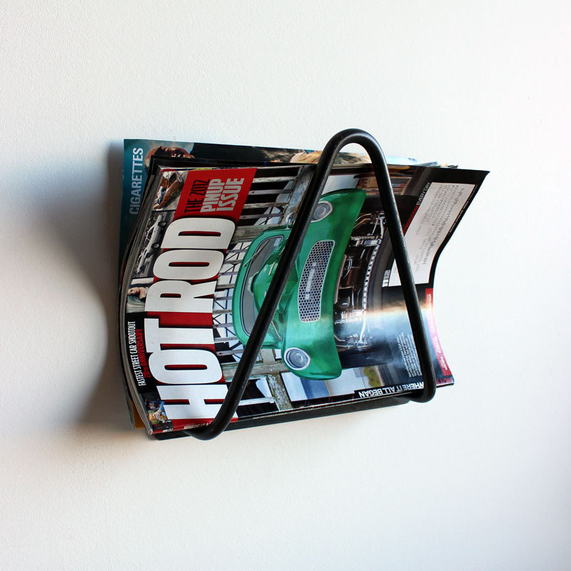 Hairpin magazine rack by onefortythree on Etsy