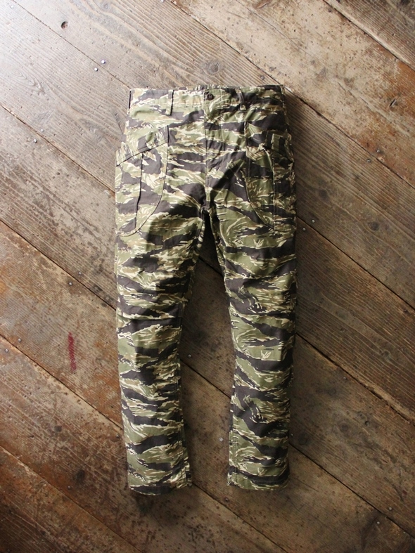 """A VONTADE """"Fatigue Trousers""""(Original Camo/2colors) 商品詳細 THE SUPERIOR LABOR,A VONTADE,CURLY,NICHE,bukht通販サイト 広島県呉市のセレクトショップ"""