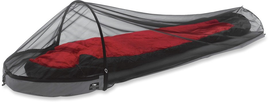 Amazon.com : Outdoor Research Bug Bivy (Black, One Size) : Zipper Mosquito Nets : Sports & Outdoors