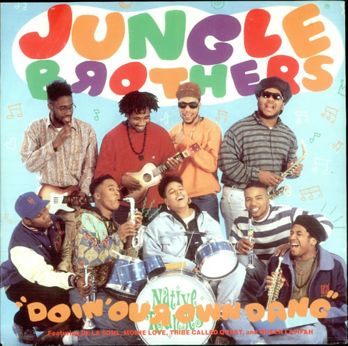 """Jungle Brothers Doin' Our Own Dang UK 7"""" RECORD (517198)"""