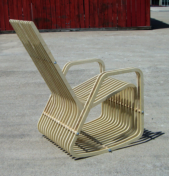 rocking-2-gether chair 2.1, PAUL KWETON's Portfolio