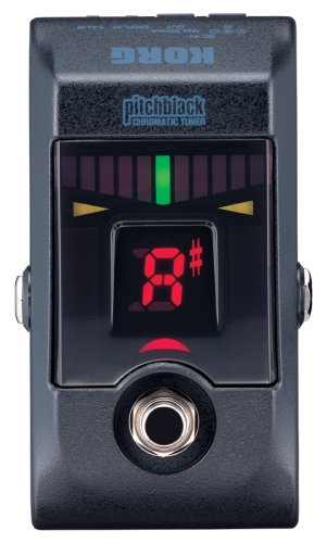 Amazon.com: Korg Pitchblack True Bypass Chromatic Tuner Pedal with 4 Display Modes: Musical Instruments