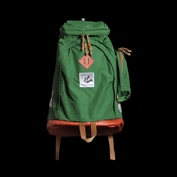 UNIONMADE GOODS - Mt. Rainier Design - Gerry Pack in Green