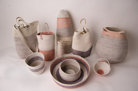 Doug Johnston's Sash Cord Vessels