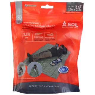 Survive Outdoors Longer® Heavy Duty Emergency Blanket - Shelter - Survival - Adventure® Medical Kits - First Aid Kits and Survival Gear