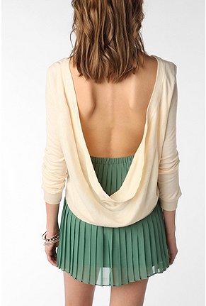 UrbanOutfitters.com > Lucca Couture Cowl Back Top