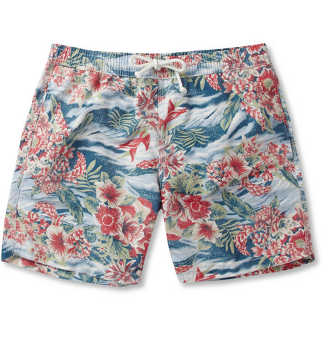 Hartford Mid-Length Printed Swim Shorts | MR PORTER