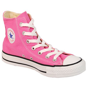 Converse - All Star - Pink with White