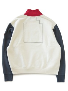 LOVE online store|MEN  Turtle Neck Sweat (light beige)