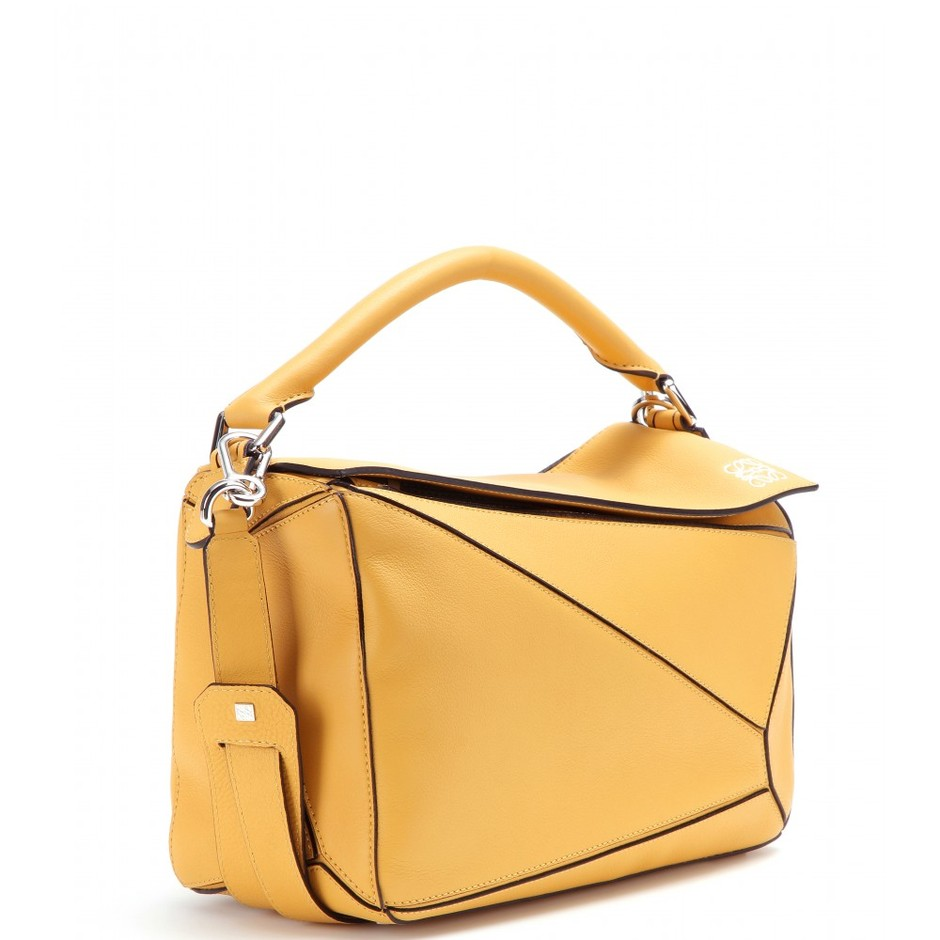 mytheresa.com - Puzzle Small leather bag - Totes - Bags - Loewe - Luxury Fashion for Women / Designer clothing, shoes, bags