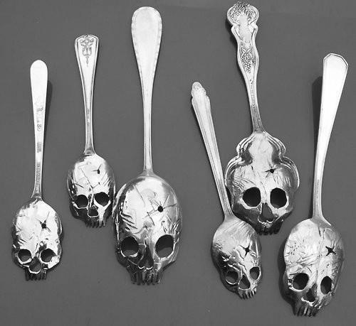 Products I Love / skull spoons