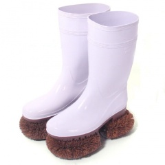 Brush Rubber Boots