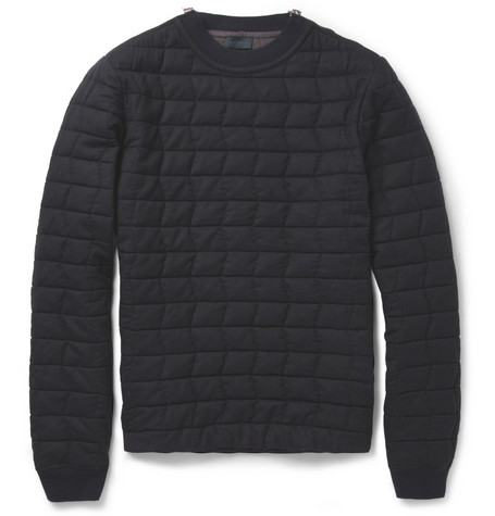 LanvinQuilted Wool Sweater MR PORTER