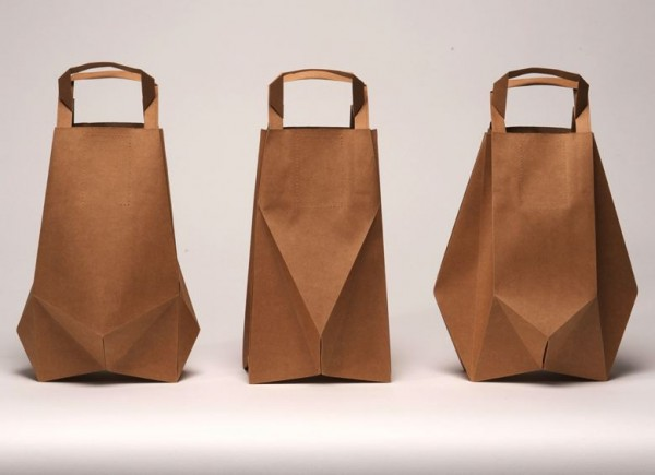 Paper bags by Ilvy Jacobs | Design WOO