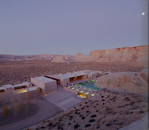 Luxury Lake Powell Resort Photos - Amangiri Resort and Spa - picture tour