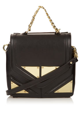 Tri Hardware Chain Bag - Topshop USA