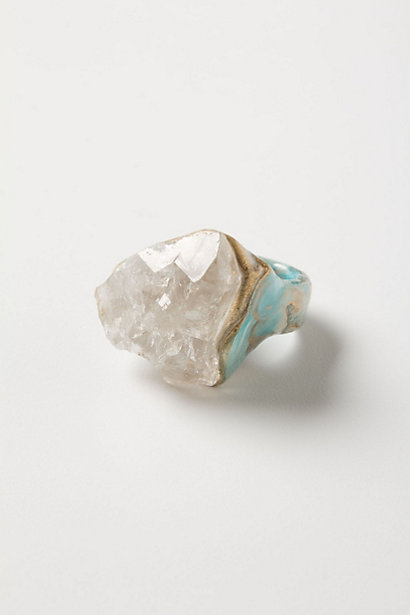 Earth & Ore Cocktail Ring - Anthropologie.com
