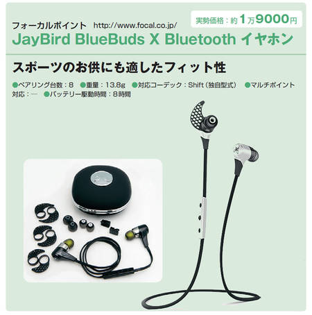 ジェイバード - Jay Bird - Bluebuds X - Black