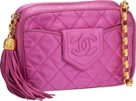 HOT PINK / CHANEL WITH TASSEL