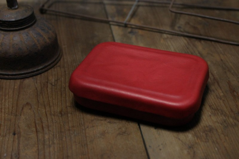 qan:savi の革の箱 (AD LEATHER BOX 01) - poooL (online shop)