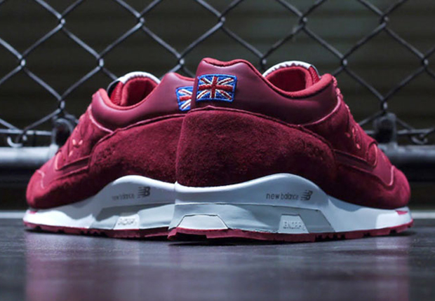 "New Balance 1500 ""Made in England"" - Red Suede - SneakerNews.com"