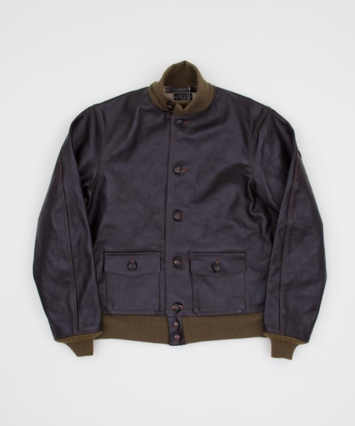The Real McCoy's Type A-1 Leather Jacket - Superdenim