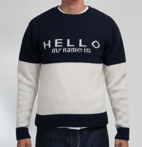 HELLO MY NAME IS(NAVY) - SON OF THE CHEESE ONLINE SHOP