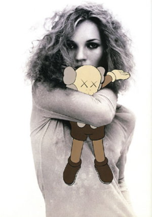 BBB'S - blog   my favourite shirt : kaws - kate moss  project to surface