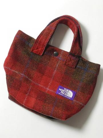 HINOYA-SUN HOUSE/商品詳細 THE NORTH FACE PURPLE LABEL(ザ ノースフェイス パープルレーベル) HARRIS TWEED TOTE BAG NN7264N