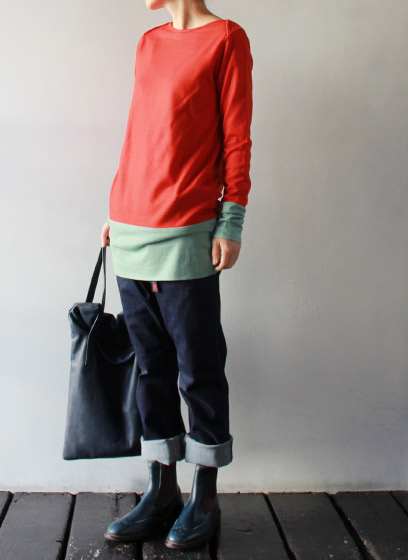 [sirenemermaid] 2TONE TUNIC 商品詳細 TAKANNA/たかんな - ONLINE SHOP