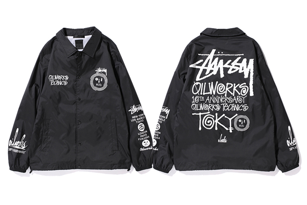 STUSSY x OIL WORKS 10TH ANNIVERASARY COLLECTION : STUSSY JAPAN OFFICIAL SITE