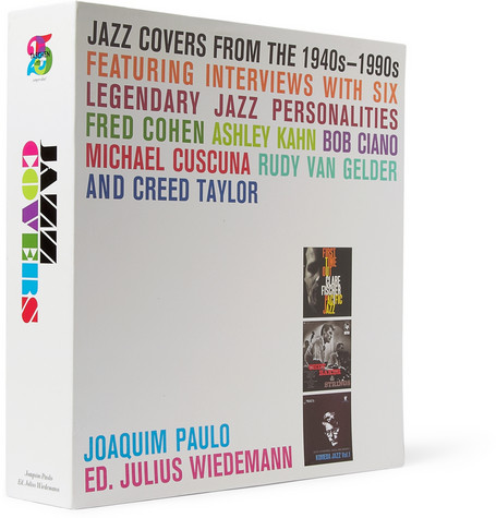Taschen Jazz Covers Hardcover Books by Joaquin Paulo | MR PORTER