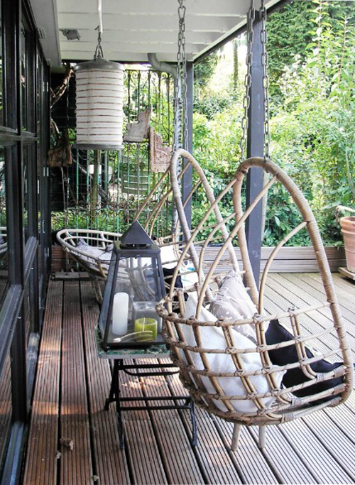 fall inspired outdoor areas   the style files
