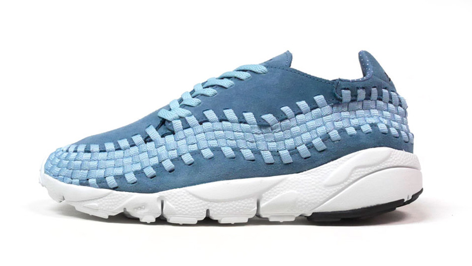 "AIR FOOTSCAPE WOVEN NM ""LIMITED EDITION for NSW BEST"" SAX/WHT ナイキ NIKE 