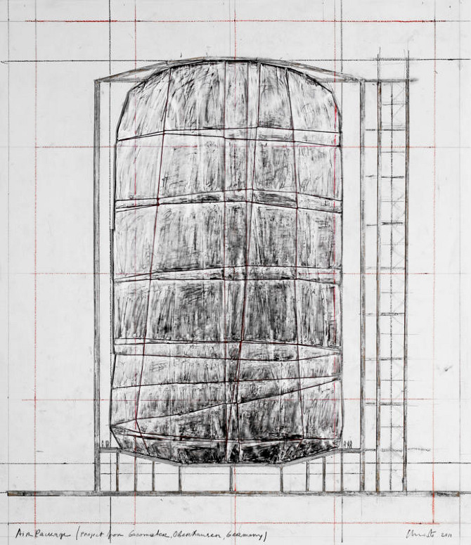 Christo and Jeanne-Claude: Big Air Package - Thisispaper Magazine