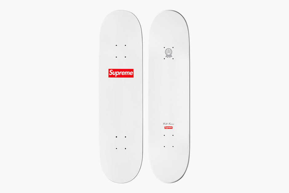 round about: Supreme 20th Anniversary Collection skateboard deck
