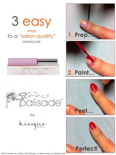 Kiesque Liquid Palisade , Better Than Nail Polish Remover , French Manicure , Nail Art , Polish Perfection