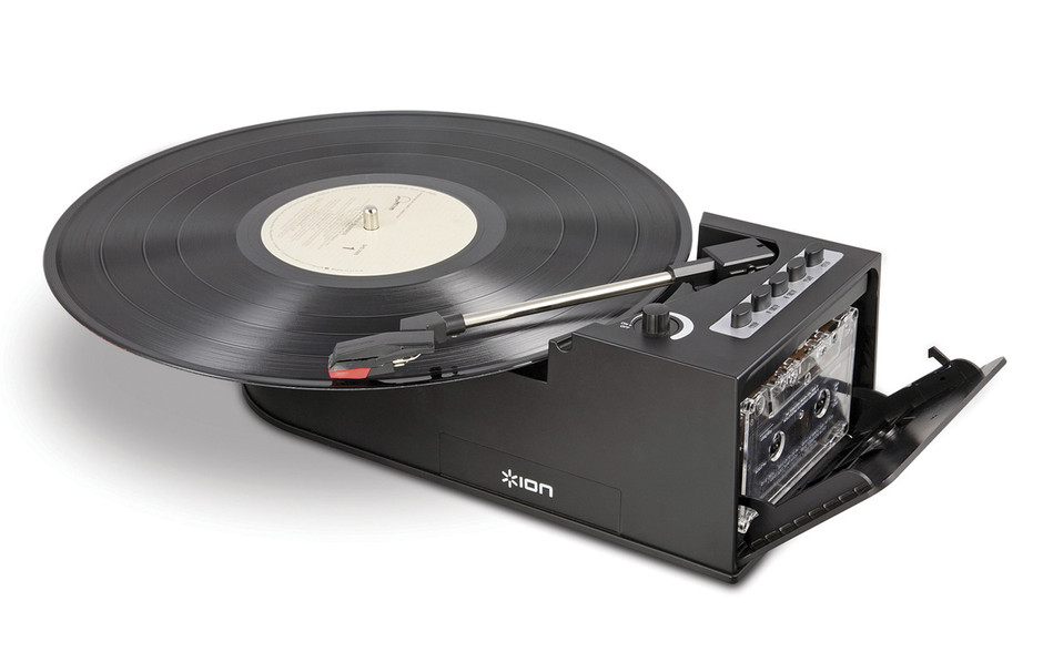 ION Duo Deck Converts Both Vinyl and Cassettes to Digital - Technabob