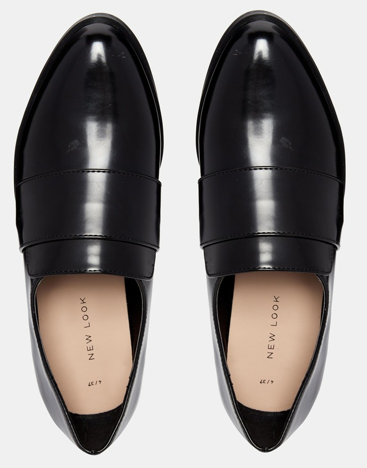 New Look | New Look Clean Flat Shoes at ASOS