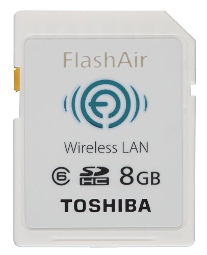 Amazon.co.jp: TOSHIBA FlashAir SDカード 8GB SD-WL008G: パソコン・周辺機器