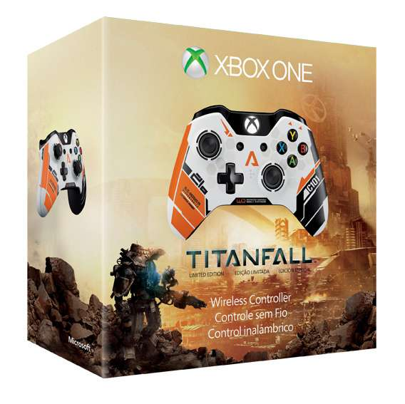 Amazon.com: Xbox One Wireless Controller - Titanfall Limited Edition: Video Games