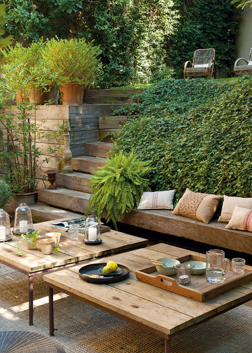 10 BEAUTIFUL OUTDOOR AREAS   the style files