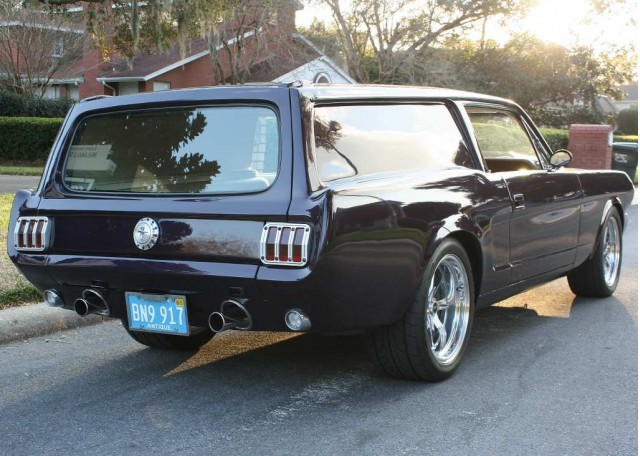 1966 Ford Mustang Meets Volvo Wagon: A Marriage Of Convenience?