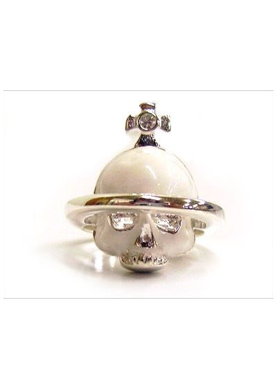 Vivienne Westwood Solid Skull Ring - Jewellery from Triads UK