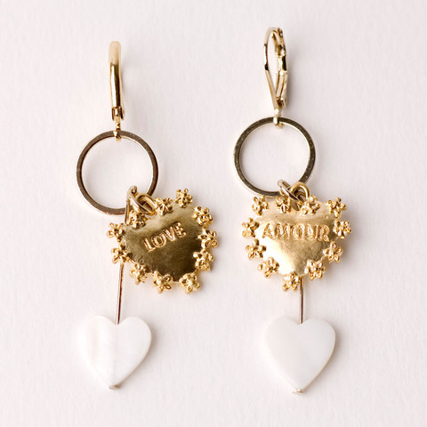 3939 Shop London | Unique product and art Invite-by Amour Dangling Earrings