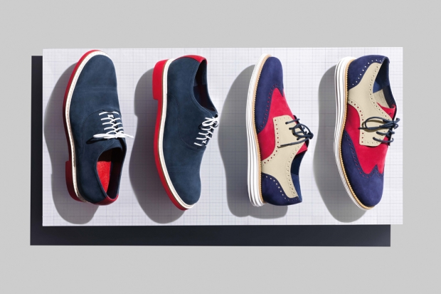 "Cole Haan 2012 Spring/Summer LunarGrand Wingtip & Harrison Oxford ""Independence Day"" 