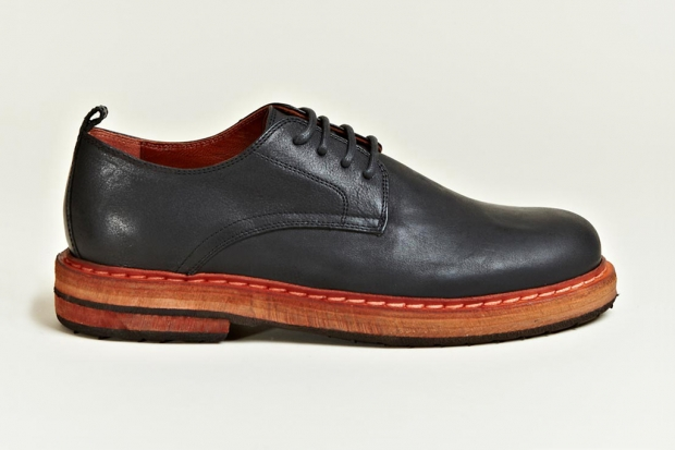 Ann Demeulemeester 2012 Fall/Winter Vitello Olio Derby Shoes | Hypebeast