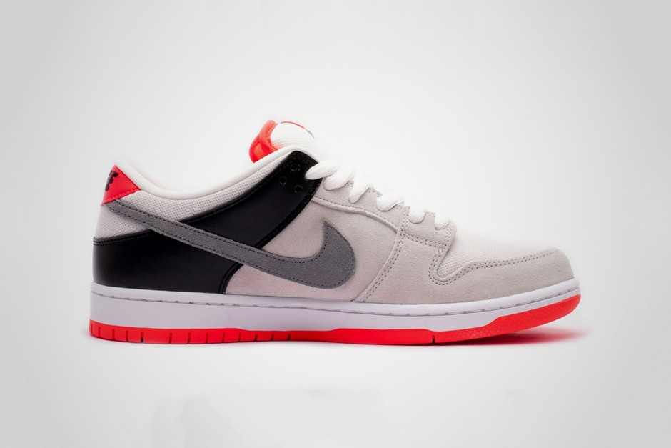 """Nike SB Dunk Low Pro ISO """"Infrared"""" Has Air Max 90-Inspired Colors"""