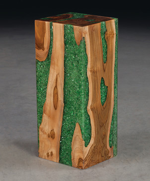 Ice Pedestal - contemporary - accessories and decor - raleigh - by Phillips Collection